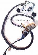 Vorderrad Bremsanlage Bremse komplett Motorroller ZNEN Taizhou Retro Roller