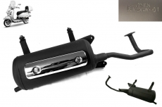 Auspuff Auspuffanlage inkl Blende Roller 125ccm