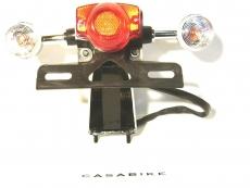 Rücklicht mit 2x Blinker inklusive Glühbirnen Motorroller