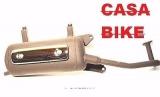 Auspuff Auspuffanlage inkl Blende Roller 50ccm Motorroller Retro ZNEN NOVA