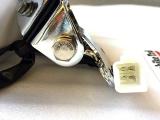 LED Scheinwerfer Mit H4 Lampe + mit Lampenschirm für Retro Roller vorne