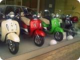 Auspuff Auspuffanlage inkl Blende Roller 50ccm Motorroller Retro ZNEN Benzhou