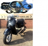 Roller Tacho Komplett 50 ccm ZN50QT-A Tachometer Motorroller Nova City Star